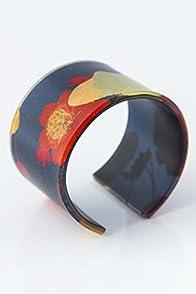 dConstruct Floral Elements Wide Cuff Bracelet (Medium)