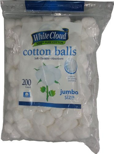 White Cloud Cotton Balls (00681131048491)