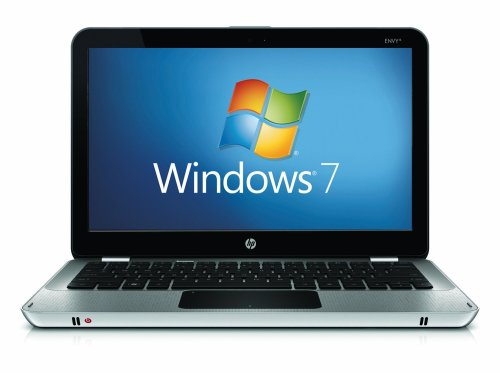 HP Envy 13-1050ea Laptop PC (13.1 inch display, Intel Core 2 Duo Processor SL9400, 3GB RAM, 250 GB SATA, Genuine Windows 7 Home Home Premium, Bluetooth, Gigabit Ethernet)
