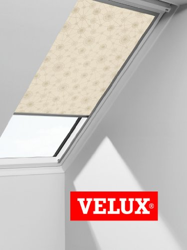 VELUX Blackout Blind Easy Fit Quality Roof Window Roller in Beige/Gold 3131