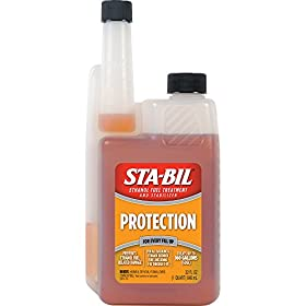 STA-BIL 22275-CS Ethanol Treatment with Performance Improver - 32 oz., (Pack of 6)