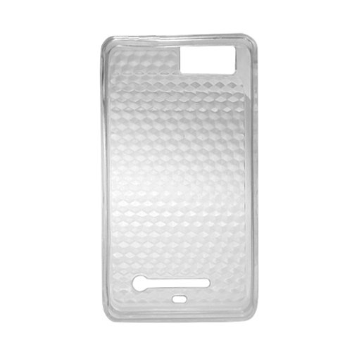 Cell Accessories For Less (Tm) Motorola Mb810 Droid Xtreme Tpu Case Transparent Hexag Onal Pattern T-Clear 511 - By Thetargetbuys