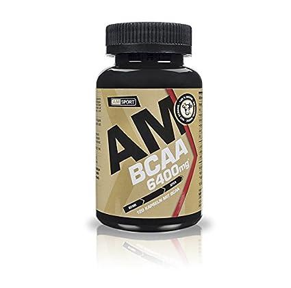 AM Sport - BCAA 6400mg - 120 Kapseln - 100% Vegan