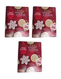 Betty Crocker Holiday Sugar Cookie Mix Recipe Collection 5 Pack Box of 5lb by Betty Crocker