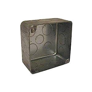 Electrical Box, Square, Plenum, 30.3 Cu In