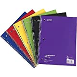 Staples; 1 Subject Notebook, 8
