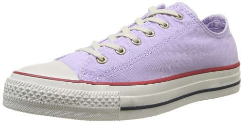 ConverseChuck Taylor All Star Well Worn Ox - Stivaletti Unisex adulti , Viola (Purple (Violet Clair)), 36