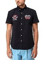 Rivaldi Camisa Hombre Larpitac (Azul Marino)