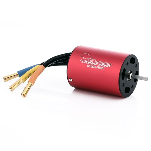 Leopard Brushless Inrunner 3430Kv 4-Pole For Electric Rc Boats And Large Scale Planes