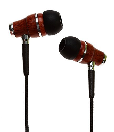 Wooden in ear headphones for classical music