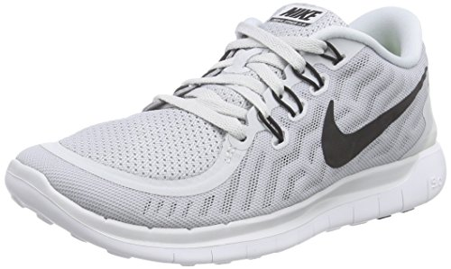 7db53a17eaa9 Nike Womens Free 5.0 Running Shoes (Pure Platinum) Sz. 6.5 - Import ...
