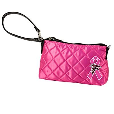 NFL Atlanta Falcons Quilted Wristlet, Pink