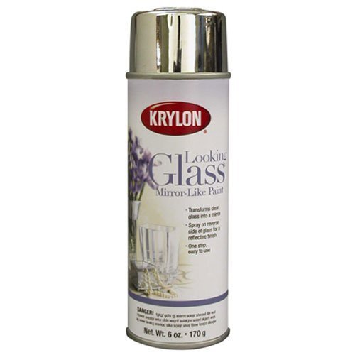 Krylon Looking Glass Silver-Like Aerosol Spray Paint 6 Oz. by Krylon (Looking Glass Spray compare prices)