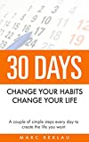 30 Days- Change your habits, Change your life