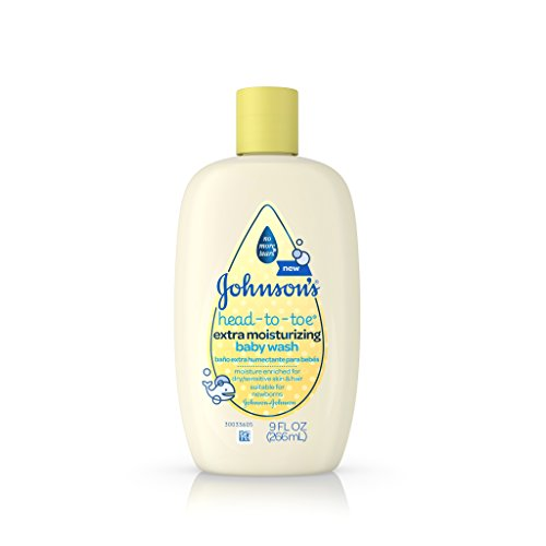 Johnson's Head-To-Toe Extra Moisturizing Baby Wash, 9 Fl. Oz