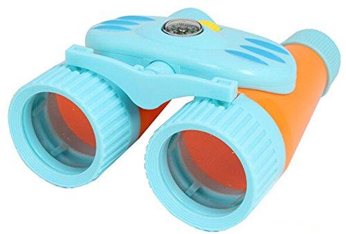 Kids Toy Binocular Kids Telescope Outdoor Science Explore Educational Toy Orange