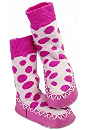 Mocc Ons Clever Socks Sneaker (12-18M / 4 3/4\