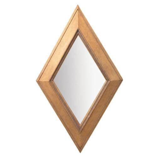 Kichler Lighting 78149 Rhombus 47.5-Inch Mirror, Lightly Distressed Camel Finished Frame front-964809