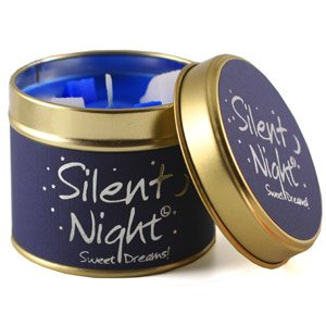 Lily Flame Scented Candle Tin - Silent Night from Lily Flame