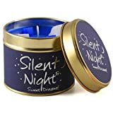 Lily Flame Scented Candle Tin - Silent Night