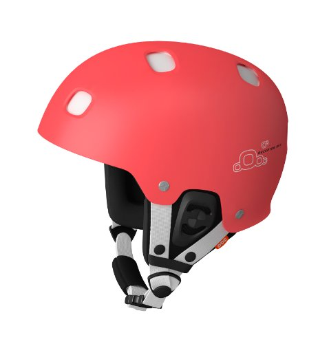 POC Skihelm Receptor BUG Adjustable, fluorescent orange/white, XS-S/51-54