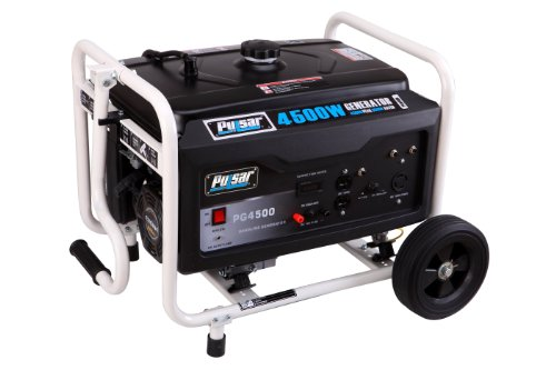 Pulsar Pg4500 Gas Powered Generator, 4500-Watt Output