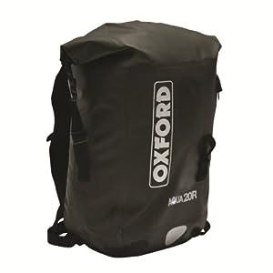 Oxford Motorcycle Aqua 20 Rucksack All Weather Waterproof Back Pack OL930