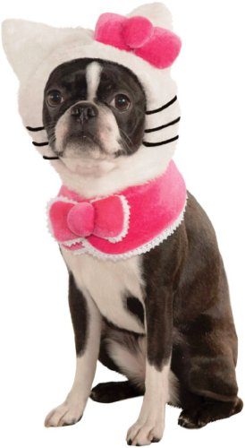 Rubies-Costume-Printed-Doggy-Cuff-Pet-Costume-Hello-Kitty-Cuff-Set
