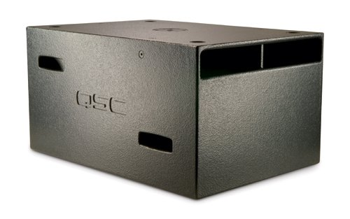 "Qsc Gp212-Sw Wideline Series Dual 12"" Ground-Support Subwoofer"