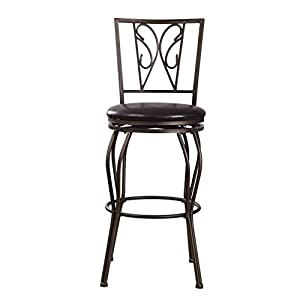 Clearance joveco ornate design dark bronze for Bar stools clearance