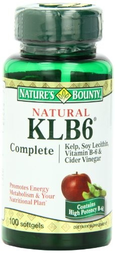 Nature'S Bounty Klb6, 100 Softgels, (Pack Of 2)
