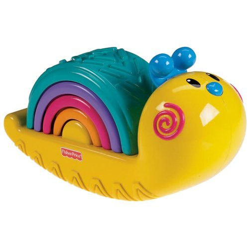 Fisher-Price Growing Baby: Rainbow Snail Stacker by Fisher-Price [Toys & Games] - 1