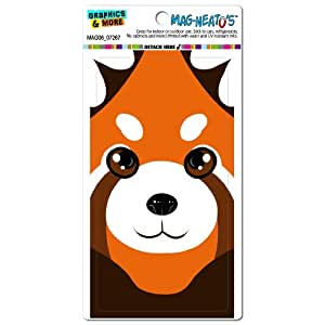 graphics and more red panda cute full face mag neato s