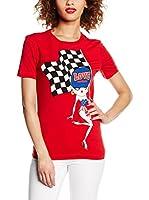 Love Moschino Camiseta Manga Corta (Rojo)