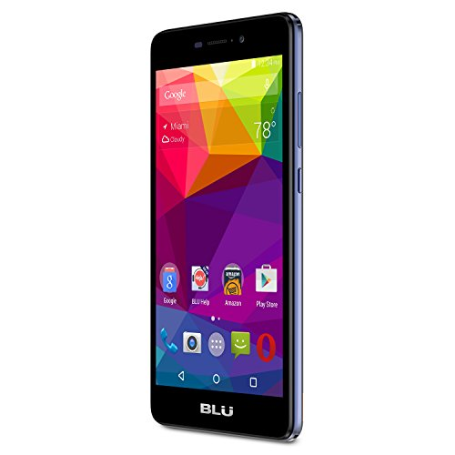 BLU Life XL - LTE Smartphone - GSM Unlocked - 16GB +2GB RAM - Dark Blue