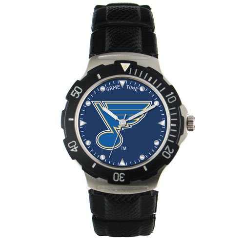 NHL Men's HD-STL Agent Series St. Louis Blues Polyurethane Watch