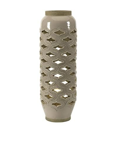 Bailey Cutwork Ceramic Lamp