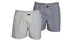 Careus Men's Cotton Boxers (Pack of 2)(1013_1016_Multi-coloured_Large)