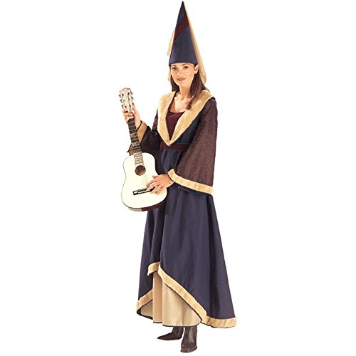 Adult Medieval Maiden Dress Halloween Costume (Size: 12)
