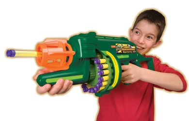 Battery Operated Automatic Tommy 20 Nerf Machine Gun with 20 Darts