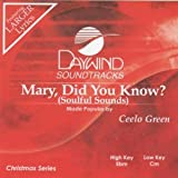 Mary Did You Know? [Accompaniment/Performance Track]