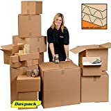 "Davpack Double Wall Brown Large Cardboard Boxes 610L x 406W x 406H mm (24"" x 16"" x 16"") - Pack of 10 - ADW33 *** PLEASE NOTE - See ""Important Information"" below.by Davpack"