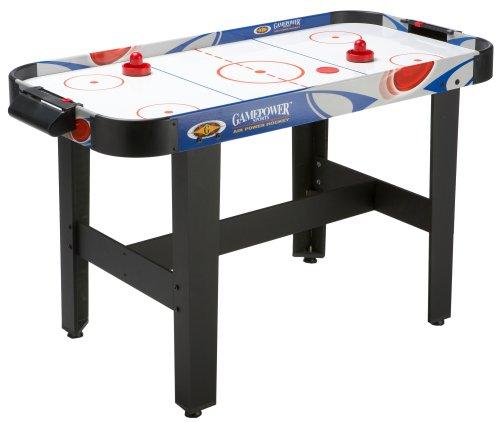 Carromco Air-Hockey controllo incrociato tavolo, 2, Mazza 2 Pucks
