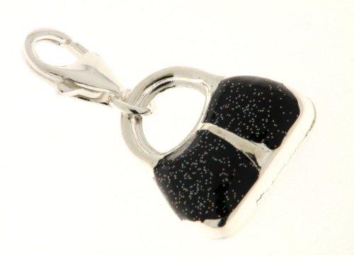 Bob C Damen-Charm Handtasche 925 Sterling Silber 282356