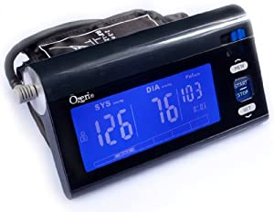 Ozeri CardioTech Premium Series BP3T Digital Arm Blood Pressure Monitor with Intelligent Hypertension Indicator