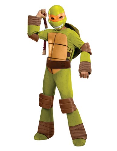 Tmnt Michelangelo Child Costume Md Kids Boys Costume