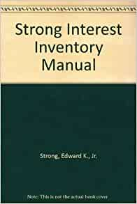 review of the strong interest inventory Personal career review sheet strong interest inventory results general occupational theme and related interests level of interest.