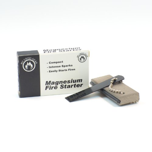 Sale!! Magnesium Fire Starter - Military Quality with Flint Striker Rod & Mini Saw Tool - Light Weig...