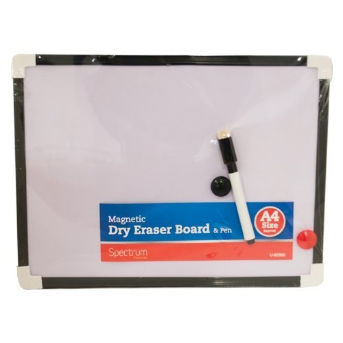 4-piece-a4-magnetic-dry-wipe-board