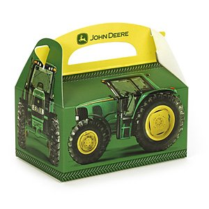 John Deere Empty 4-in X 6-in Party Favor Box